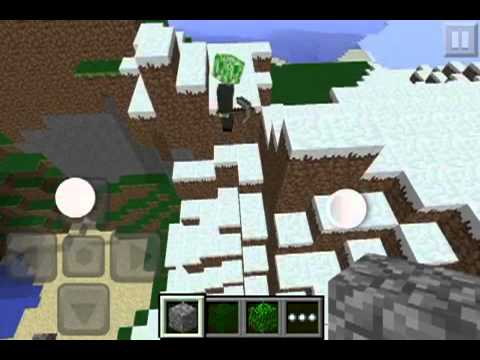 Minecraft pe Herobrine seed showcase