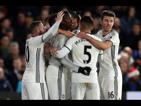 Pogba Goal Crystal Palace Vs Manchester United 0-1 14/12/16
