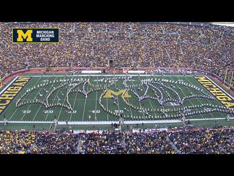 """Game of Thrones"" - November 3, 2018 - The Michigan Marching Band & Penn State Blue Band"