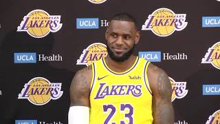 [FULL] LeBron James' first press conference with Los Angeles Lakers | NBA Media Day | ESPN