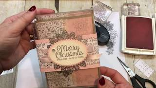 Video How to create a Boxed Set of Christmas Cards MP3, 3GP, MP4, WEBM, AVI, FLV Juli 2019