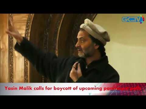 yasir Malik protests