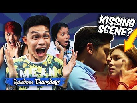 KATHNIEL KISSING SCENE???