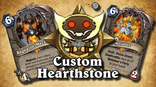 TOP CUSTOM CARDS OF THE WEEK #8 - Custom Boomsday Stuff! | Card Review | Hearthstone