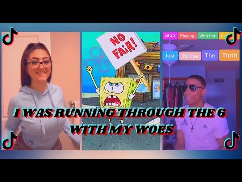 I Was Running Through the 6 With My Woes (Krust Krab Is Unfair) Tik Tok Compilation