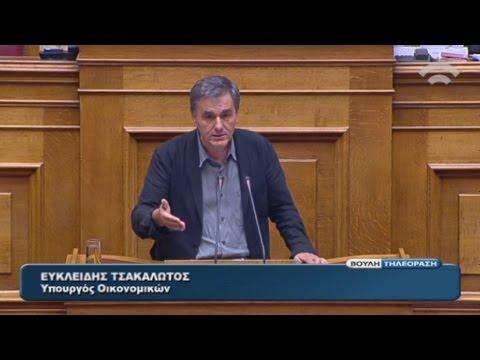 Ένταση στη Βουλή για το νομοσχέδιο με τα προαπαιτούμενα