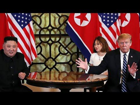 USA / Nordkorea: Planänderung beim Gipfel in Hanoi -  ...