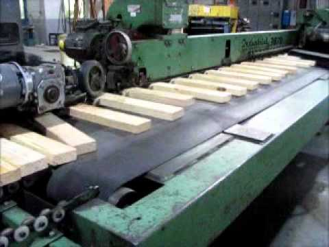 Industrial Wood Works High Production 3870 Finger Joint Shaper & FJA-200 Press (#343616)