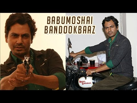Nawazuddin Siddiqui Plays With Gun During Babumosh