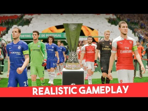 Realistic Highlight: Chelsea Vs Arsenal  | UEFA EUROPA LEAGUE FINAL 2019