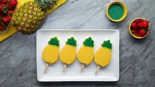 Cookie Cutter Ice Cream Pops •Tasty by Tasty