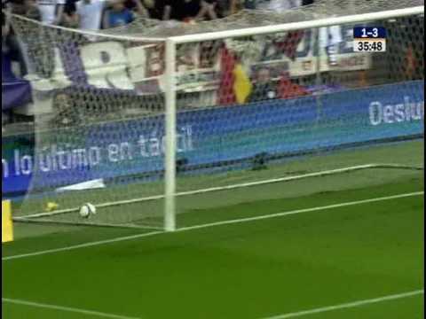 Lionel Messi gol al Real Madrid (2-6) Liga Española 08-09