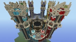 Minecraft Xbox - Towers - PvP Map