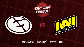 Evil Geniuses vs Natus Vincere, DreamLeague Season 11 Major, bo3, game 2 [Lex & GodHunt]