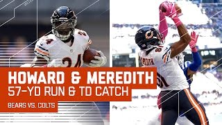 Jordan Howard's 57-Yard Rush Sets Up Cameron Meredith's Red Zone TD! | Bears vs. Colts | NFL by NFL