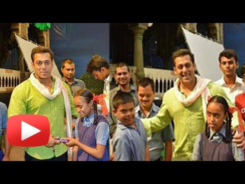 Salman Khan Plays With Specially-Abled Kids | Prem