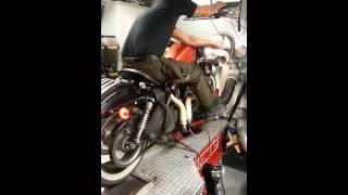 10. Harley Davidson Sportster 48 Dyno run
