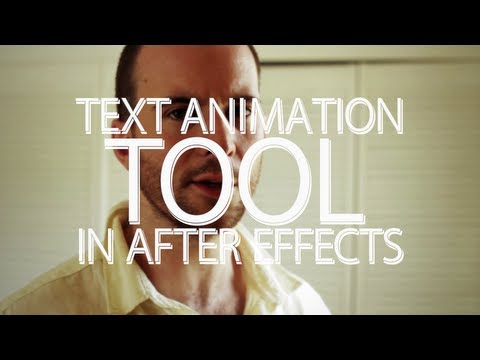 adobe after effects - Click to tweet? -- http://clicktotweet.com/ec4sY So you want to aniamte some text do you? Well After Effects is good for that. The text animation options can...
