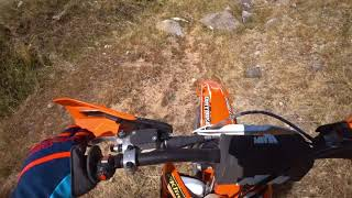 9. Riding the Backside | 2018 KTM 250 XC