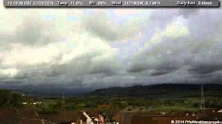 7 May 2014 - WeatherCam Timelapse - FifeWeather.co.uk