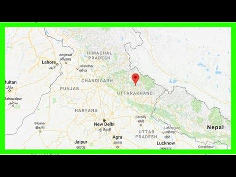 5.5-magnitude earthquake hits uttarakhand's rudraprayag