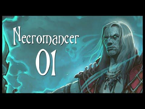 Diablo 3 Necromancer Class Gameplay Part 1 (Let's Play Diablo III Gameplay Walkthrough)