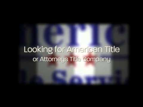 (719) 225-1348 @ American Title Services, american title & attorneys title company  Pueblo
