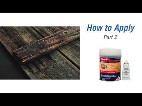 0 Repair Wood With Bondo