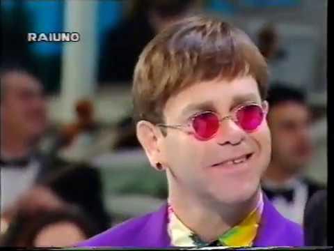 ELTON JOHN e RUPAUL - Don't Go Breaking My Heart - FESTIVAL DI SANREMO - 26-02-1994