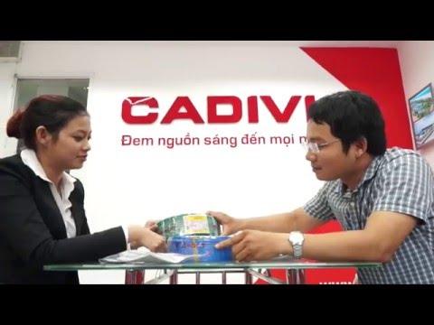 Nhận diện thương hiệu CADIVI