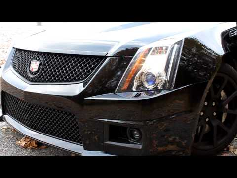 Vengeance built CTS-V Sedan Revving Blower!