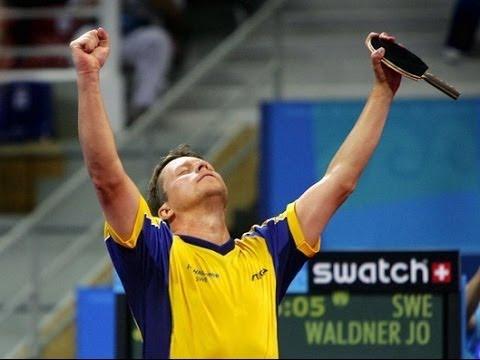 Jan Ove Waldner - The block