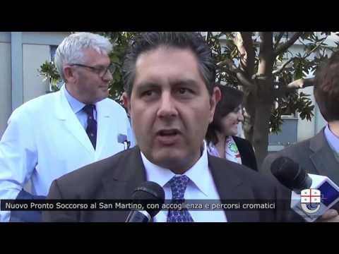 Nuovo Pronto Soccorso al San Martino potenziata accoglienza, introdotti percorsi cromatici