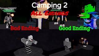 Video ROBLOX Camping 2   All 4 Endings MP3, 3GP, MP4, WEBM, AVI, FLV Agustus 2019