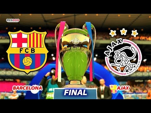 PES 2019 | Barcelona vs Ajax | UEFA Champions League Final | Gameplay PC