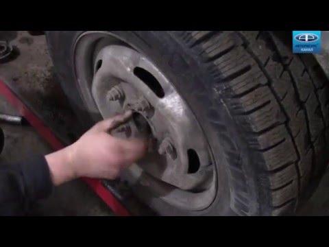 замена подшипника ступицы форд транзит 2008