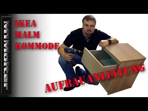 IKEA MALM Kommode - Aufbauanleitung von M1Molter