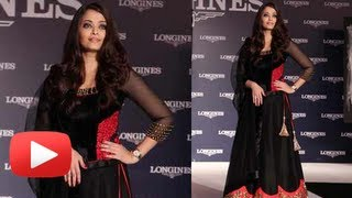 Aishwarya Rai Turns Princess On The Ramp - Longines Watch Launch -  Hot Or Not ?