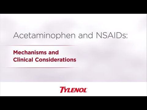 Acetaminophen & NSAID Differences | TYLENOL® Professional