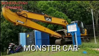 Mobil Keruk Monster (excavator/beko)