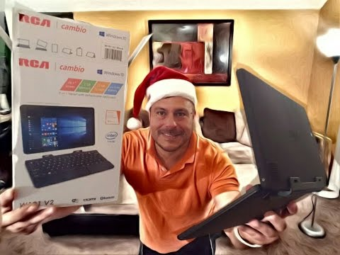 RCA Cambio 2 in 1 Windows 10 Laptop - $129