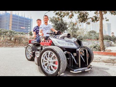 Kichmen 1h - Chiếc xe độc nhất tại Việt Nam - Thời lượng: 24:26.
