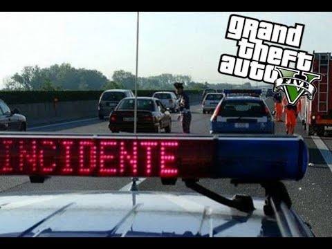 GTA5 LSPDFR POLIZIA 113 #02 Incidente Mortale