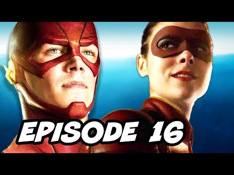 The Flash Season 2 Episode 16 - TOP 10 WTF And Easter Eggs
