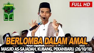 Video Ceramah Terbaru Ustadz Abdul Somad Lc, MA - Masjid As Sajadah, Kubang Raya MP3, 3GP, MP4, WEBM, AVI, FLV November 2018