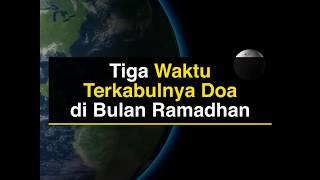 Religi | 3 Waktu Terkabulnya Doa di Bulan Ramadhan