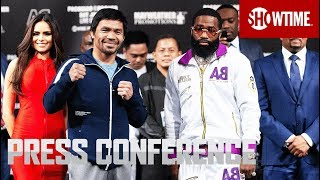 Pacquiao vs. Broner: Fight Week Press Conference | SHOWTIME PPV