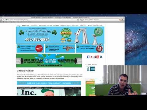 Plumber SEO – Proof & Case Studies – Internet Marketing for Plumbers