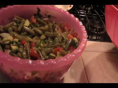 laabuelitamartita48 - Una ensalada para acompañar las pechugas carne asada o lo que quieras..