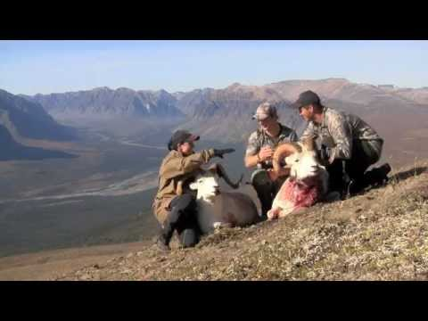 Nina & Trygve on a mixed bag hunt with South Nahanni Outfitters in 2012